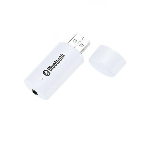 Andoer® Tragbarer MiniUSB 3.5mmAudio Drahtloses Bluetooth MusikAudioEmpfänger Adapter Auto Stereo Heim Audio System