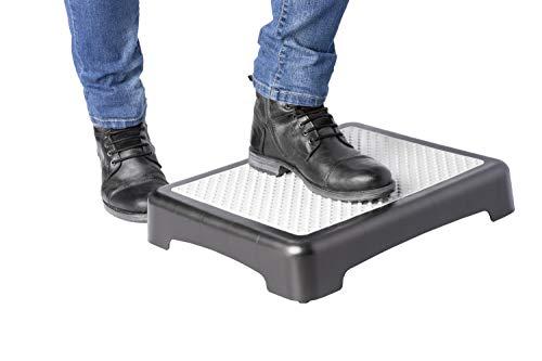 UPP Trittstufe Indoor & Outdoor | Steighilfe für Senioren mit doppelter Anti-Rutsch Sicherung | Bis 200 kg belastbar | Ideal auch im Bad