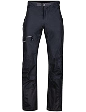Marmot Red Star Pantalón impermeables al agua, Homme, Negro, M