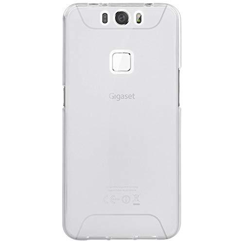Easbuy Handy Hülle Soft Silikon Case Etui Tasche für Gigaset Me 5.0 Zoll GS55-6 Smartphone Cover Handytasche Handyhülle Schutzhülle