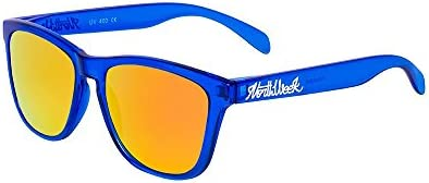 Northweek Regular Bright Blue - Orange Polarized - Gafas de sol unisex, azul