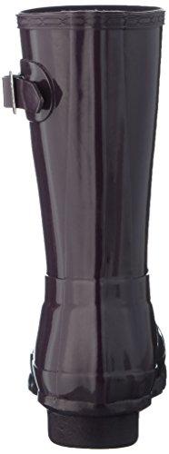 Hunter  Original Short, bottes en caoutchouc femme Prune