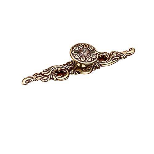 Manija de Cobre, manija de la Puerta del Armario del gabinete Chino, manija de Oro/Tamaño: 150 mm * 25 mm