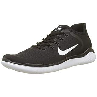 Nike Free RN 2018, Herren Fitnessschuhe, Schwarz (Black/White), 45.5 EU (10.5 UK)