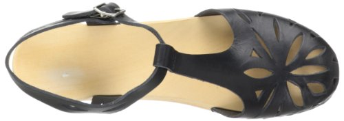 Swedish Hasbeens Lacey, Mules femme Noir (Black)