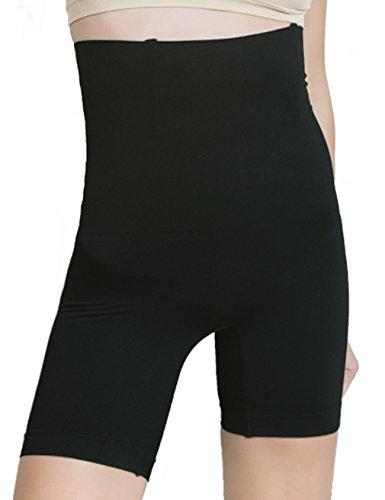 HOLYSNOW Pantaloncini da Donna, Vita Alta, Trainer con Regolazione della Potenza e Controllo della Potenza