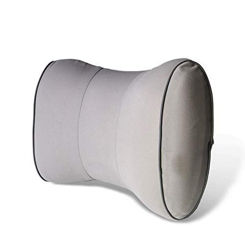Rückenkissen aus Memory-Baumwolle-Lendenwirbelauto-Bürokissen, 34x27x9cm, grau