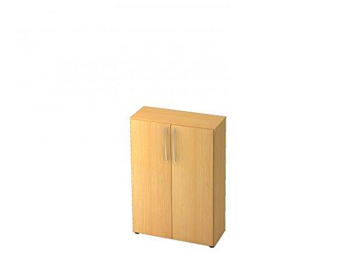 Aktenschrank/Büroschrank DR-Büro Serie V45-80 x 33 x 114,4 cm - 5 Farben - 3 Ordnerhöhen, Farbe...