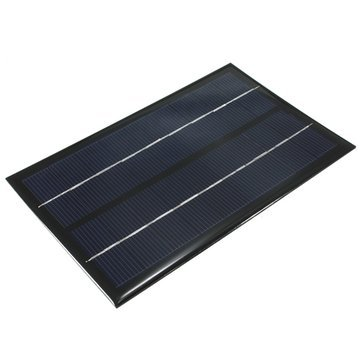 Unbekannt Mini-Solarpanel - Solar Photovoltaik-Panel - 9 V 3 W monokristallines Mini-Solarpanel Photovoltaik-Panel (monokristallines Solarmodul)