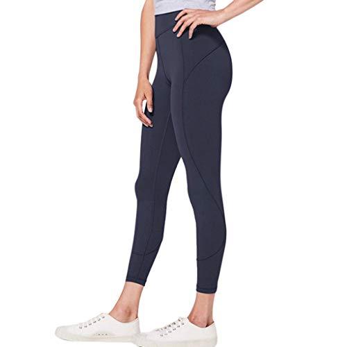2019 Sport Leggings Damen Sporthose Yogahose Fitnesshose Yoga Leggings für Damen von LEEDY