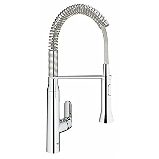 GROHE 31379000 | K7 kitchen Tap | Professional Medium - Chrome