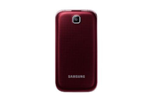 Samsung GT-C3590 - M  vil libre  pantalla TFT de 2 4   c  mara 2 Mp  1 9 GHz   rojo