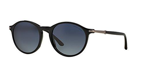 Armani Herren AR8009 Sonnenbrille, Schwarz (Onyx 50174U), One size (Herstellergröße: 52)
