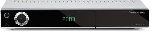 TechniSat TechniStar S1 HDTV-Digitaler Satelliten-Receiver (CI+-Schacht, HDMI, Conax-Kartenleser, PVR-Ready) silber-schwarz