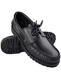 24 Horas 10373, Zapatos de Cordones Oxford para Hombre, Azul (Marino 5), 45 EU 24 Horas