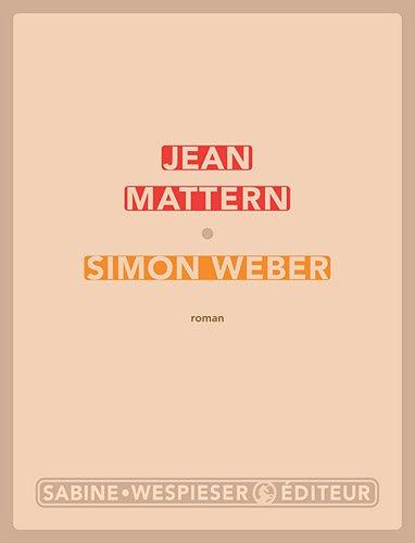 Simon Weber | Mattern, Jean. Auteur