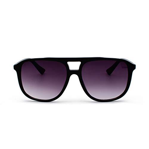 Lazzboy Polarisierte Sonnenbrille Mit Farbverlauf Für Frauen Mann Verspiegelte Linse Mode Goggle Eyewear Schutz Damen Herren Pilot Brille Fahren, Freizeit Und Reise(Lila)