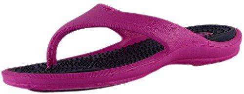 coolers-ladies-eva-toe-post-flip-flop-pool-shoe-sandal-4-uk-fuchsia