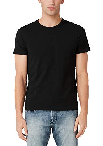 s.Oliver Herren 13.909.32.5225 T-Shirt, Schwarz (Black 9999), XXX-Large (Herstellergröße: 3XL)