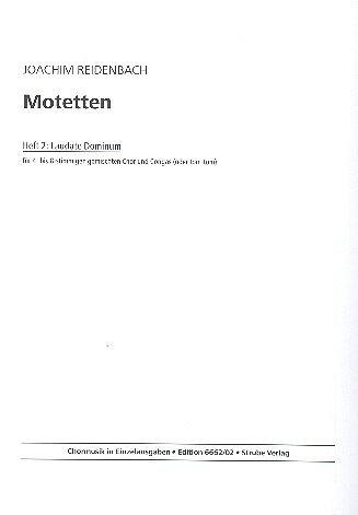 Motetten Band 2: für gem Chor und Congas (Tom-Tom)