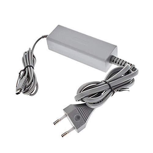 Kineca Ersatz für Wii U-Konsole 110-240V Ladegerät 4,75V / 1,6A Grau Kunststoff-Wand-Adapter Stromversorgung - Wechselstrom-wand-ladegerät-adapter