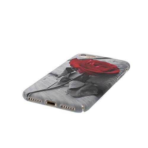 iPhone 6s Custodia, iPhone 6 Copertura 4.7, [ Peso leggero ultra & sottile Silicone Gel Soft Gel ] Cartoon iPhone 6S Case [ Flower ciliegia Fiore ], antiurto e ring supporto (Libero) Color 5