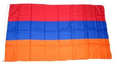 Fahne / Flagge Armenien 90 x 150 cm Flaggen Fahnen