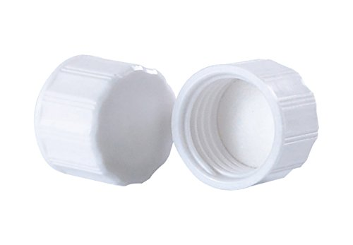 Wheaton 300208 Deckel für Diagnose-Fläschchen, Weiß (1000-er Pack)