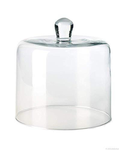 Cloche en verre ø 11 cm, hauteur 11 cm