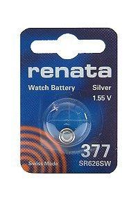 Batterie Silberoxyd Renata 377, 1er