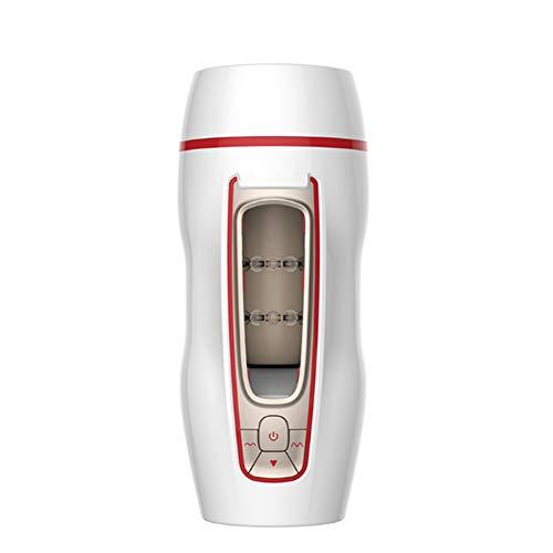 23CM Elektrisch Cup Intelligente Stimme 10 vibration modes Massagegerät 3D Realistische für Männer