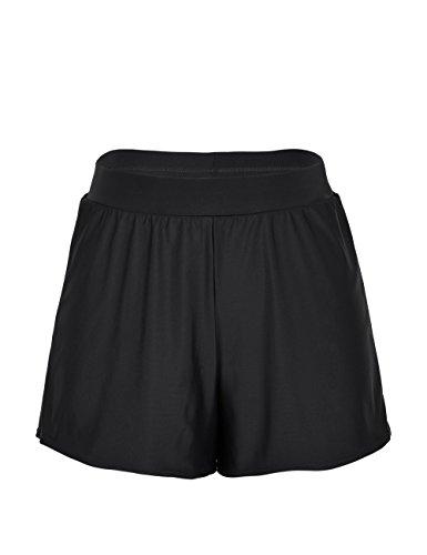 3c948022d22b0 ... Rocorose Damen Einfarbig A-linien Bikini Hose Große Größen mit Slip  ...