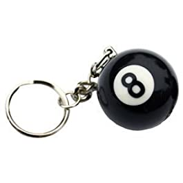 8 BALL KEYRING** by SGL