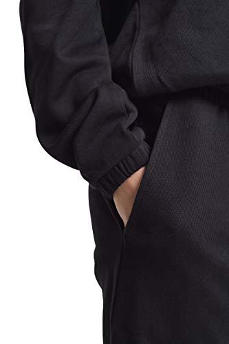 Urban Classics Damen Jumpsuit Ladies Cold Shoulder Terry, Schwarz (Black 00007), X-Small - 6
