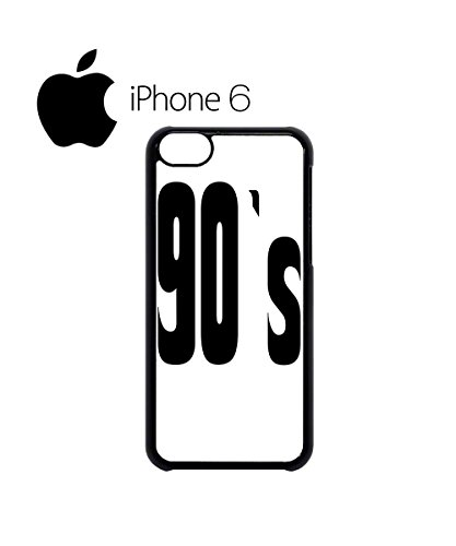 90's Retro Vintage Swag Mobile Phone Case Back Cover Hülle Weiß Schwarz for iPhone 6 White Schwarz