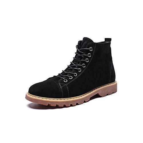 Générique FF Mâle Zhongbang en Cuir Véritable Bottes De Travail Bottes Chaussures À Talons Hauts