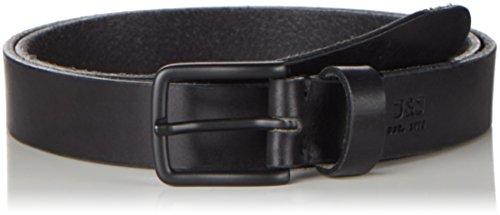 JACK & JONES Herren Gürtel Jjilee Leather Belt Noos, Schwarz (Black), 95 cm (Herstellergrö Preisvergleich