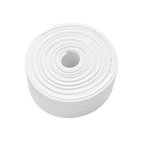 Wand Caulk Tub Surround Sealer Trim Wasserdicht Form Beweis Klebeband Küche Badezimmer WC-Dichtungsmittel Haushalt - Weiß 38mm * 3.2m