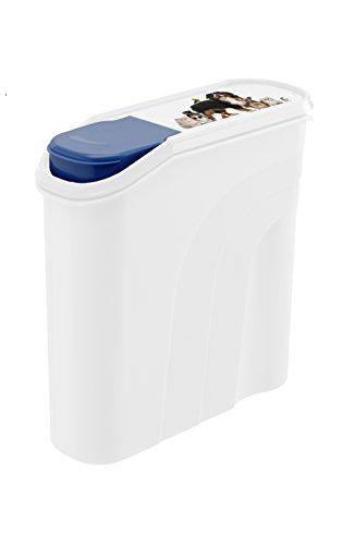 Rotho Caja de Almacenamiento de Comida para Mascotas, Hecho de Polipropileno (plástico PP), para almacenar Comida Seca de Perros, Gatos, pájaros, etc.