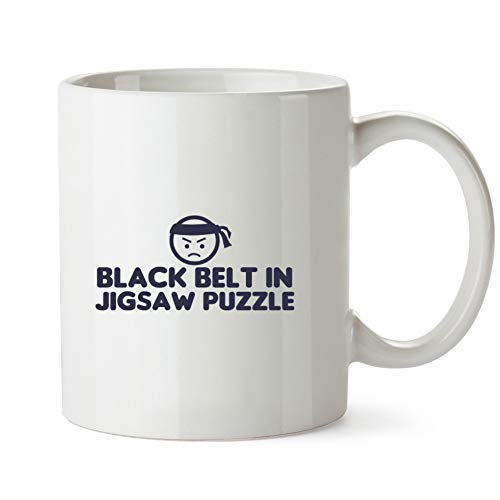 Idakoos Black Belt In Jigsaw Puzzle - Ocio - Taza