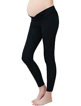 Leggings di maternità vita bassa gravidanza pancia pantaloni per le donne incinte e le donne dopo il parto sottile...