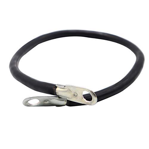 Vosarea 0,5 m 16 Square 100A Heavy Duty Auto Booster Jumper Ground Kabel (Schwarz) Booster Jumper-kabel