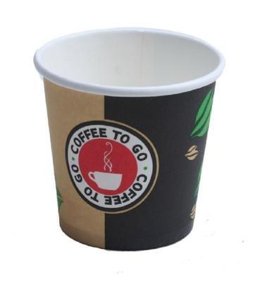 Espressobecher to go - Hartpapier - Becher 100ml Pappbecher Espresso (500)
