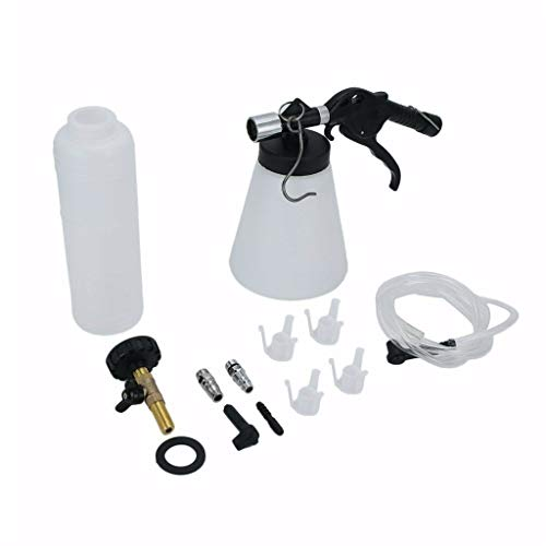 FiedFikt Pneumatische Auto-Entlüftungsgerät Bremsenöl Ersatz-Kit 1 l Fahrzeug Bremsflüssigkeit Ersatzwerkzeug Reinigungsmittel Organizer -