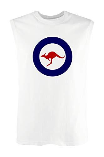 T-Shirt Mann armellos Weiss WTC1820 royal Australian air Force Raaf