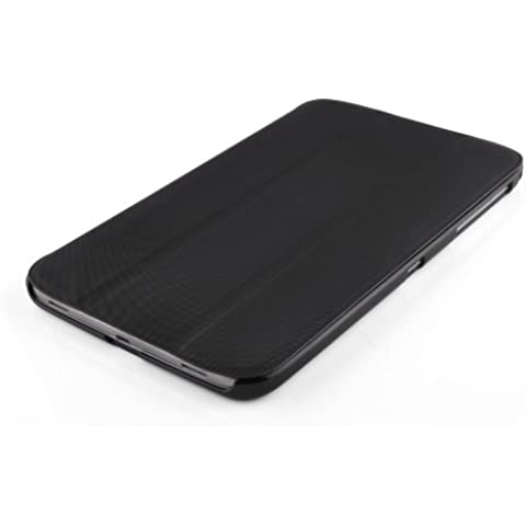 VEO | Funda Ultra Slim Para Samsung Galaxy TAB 3 8.0 Smart Case Cover Inteligente, NEGRO