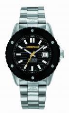 Caterpillar S1 141 11 121 - Reloj de caballero de cuarzo, correa de acero inoxidable color plata