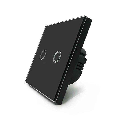 Wandleuchte Touch Switch Panel EU Auf / Aus Sensor Zwei Gang Einweg Wasserdichte 240 V Controller Schalter Platte -