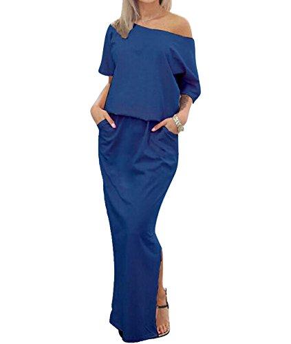 VLUNT Damen Kleid, blau (People Outfits Village)
