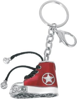 Preisvergleich Produktbild Schlüsselanhänger im Stil CONVERSE ALL STAR, rot